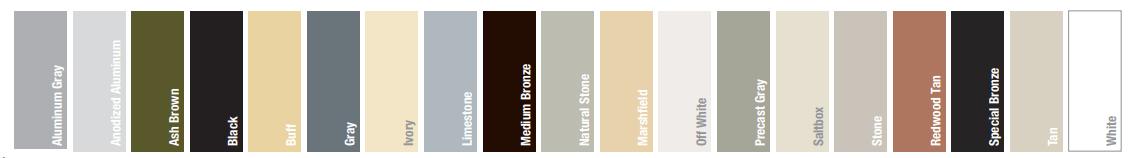 Choix de couleur de calfeutrage - Calfeutrage MJM et fils